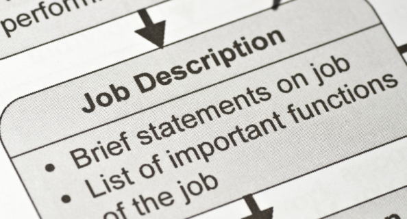What's the difference between a job profile and a job description?
